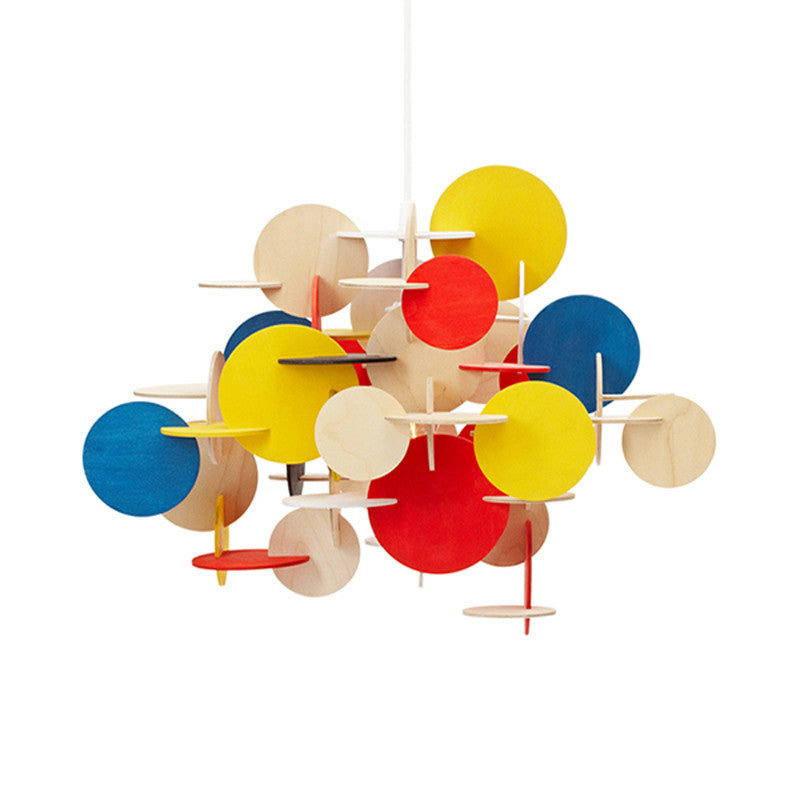 Bau Pendant Large Multi PL469 - Cheerhuzz