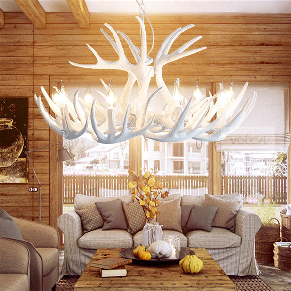 Vintage Antler Chandelier Light PL482