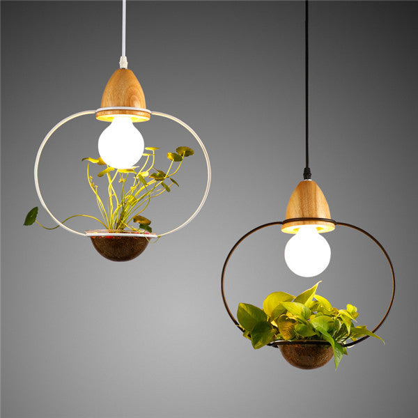 Superb ... DIY Creative Elegant Plant Ceiling Lamp PL483 ...