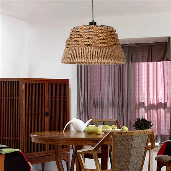 Nautical Rope Woven Chandelier PL486 - Cheerhuzz