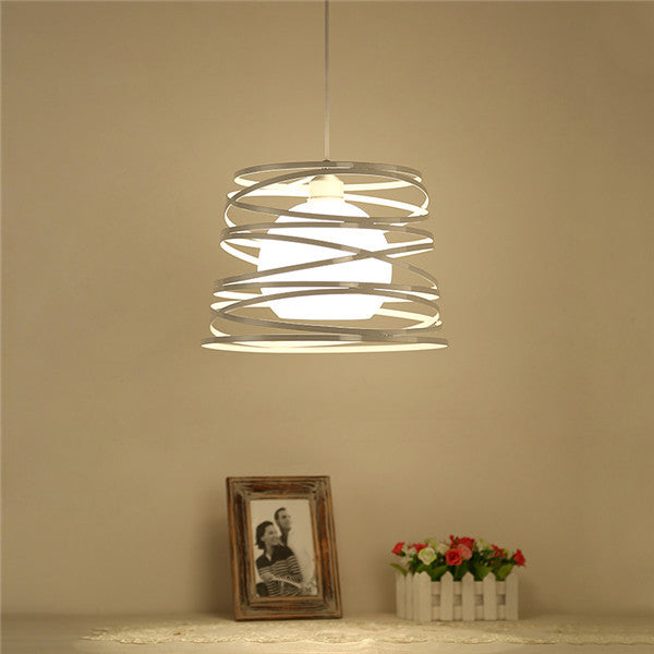 Iron Ribbon Ceiling Lamp PL487 - Cheerhuzz