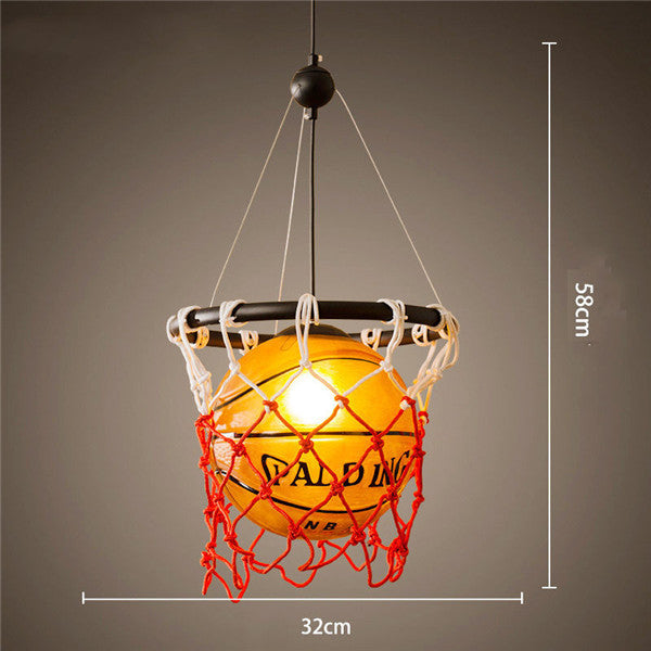 Vintage Basketball Pendant Light PL488