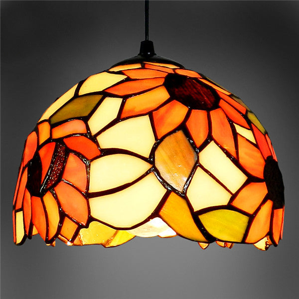 Modern Tiffany Glass Pendant Lamp PL496