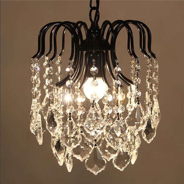 Retro Luxury Crystal Pendant Lamp PL499-L - Cheerhuzz