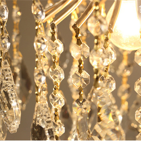 Modern Luxury Crystal Pendant Lamp PL499-S