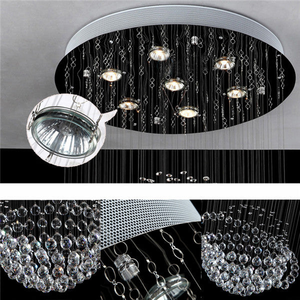 Luxury Crystal Staircase Pendant Lamp PL503-60