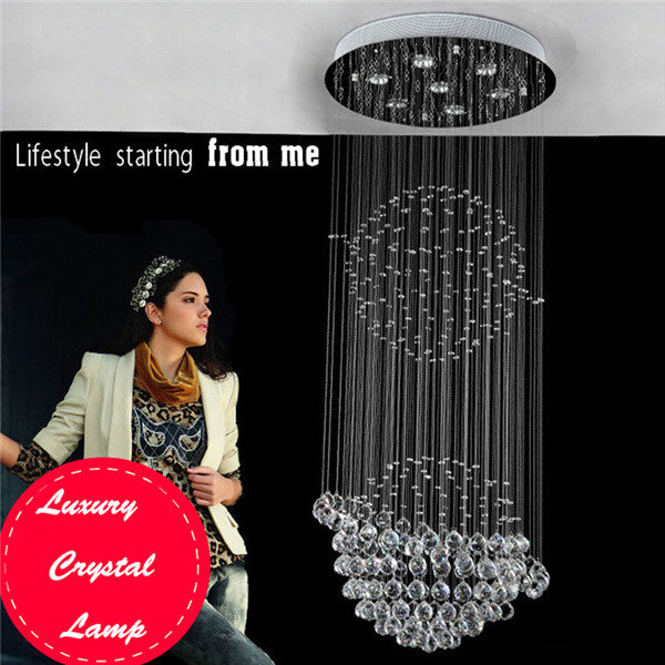Luxury Crystal Staircase Pendant Lamp PL503-60 - Cheerhuzz