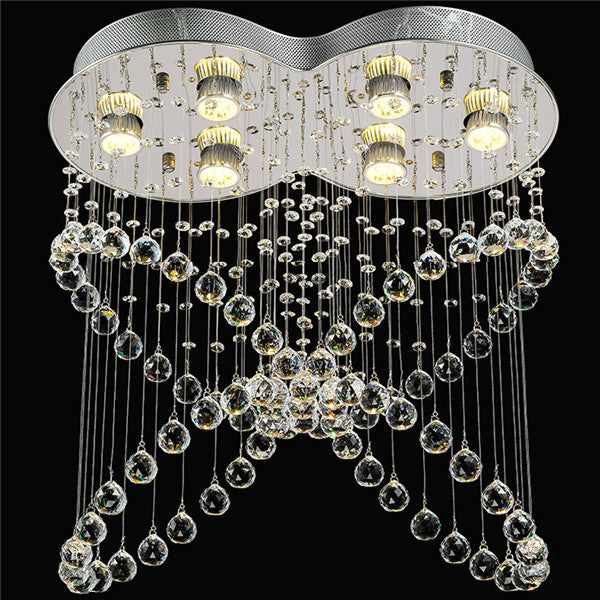 Luxury Crystal Ceiling Lamp Butterfly Chandelier PL508 - Cheerhuzz