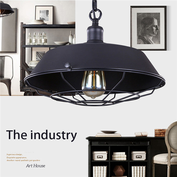 Industrial Loft Metal Chandelier PL510
