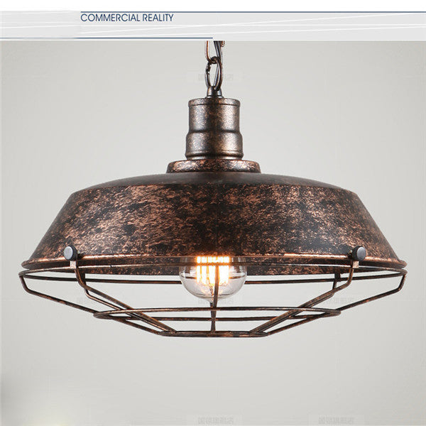 Industrial Loft Metal Chandelier PL510 - Cheerhuzz