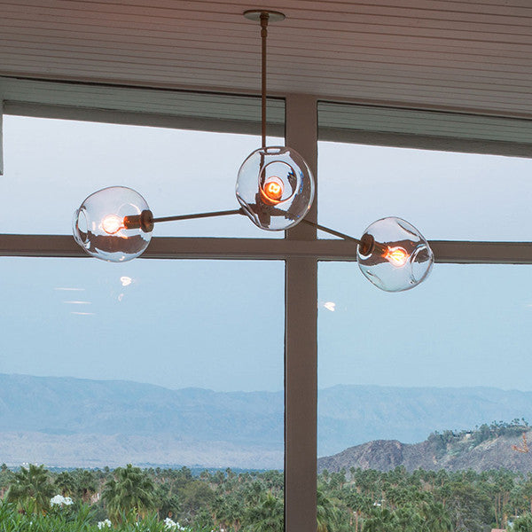 Lindsey Adelman 3 Lights Bubble Chandelier PL513-3