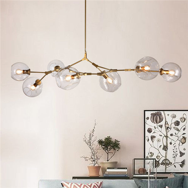 Lindsey Adelman 7 Lights Glass Chandelier PL513-7