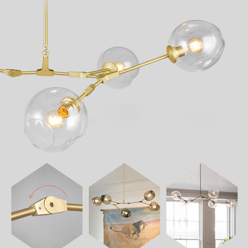 Lindsey Adelman 5 Lights Bubble Chandelier PL513-5 - Cheerhuzz