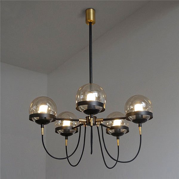 Vintage Glass Ball Pendant Lamp PL523 - Cheerhuzz