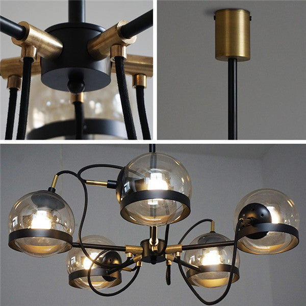 Vintage Glass Ball Pendant Lamp PL523