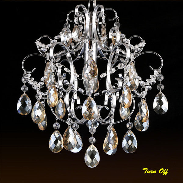 Modern Luxury Crystal Pendant Lamp PL526