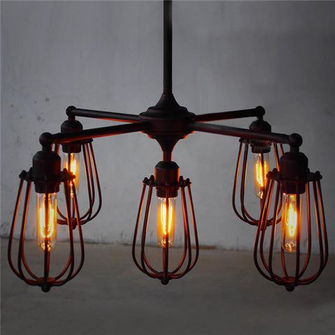 Retro Chandelier Fixture Pendant Light PL531