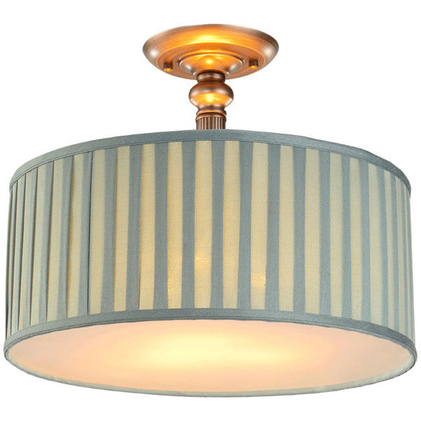 Retro Ceiling Light Fabric Lampshade Pendant Lamp PL540 - Cheerhuzz