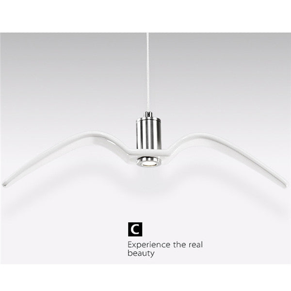 Simple Bird Ceiling Lamp Light PL542