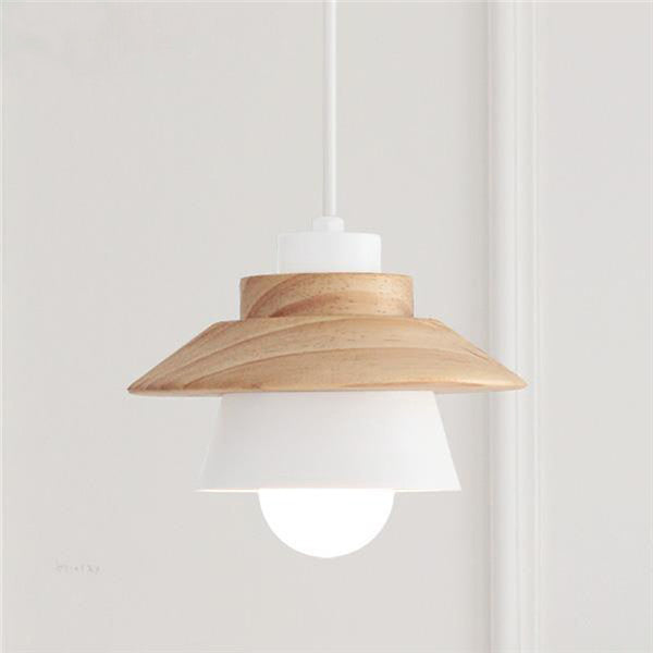 Modern Wood Bar Pendant Light PL547