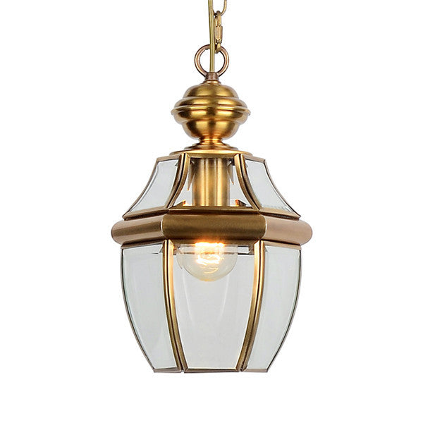 Classic Mini Lantern Electroplated Pendant Light PL558 - Cheerhuzz