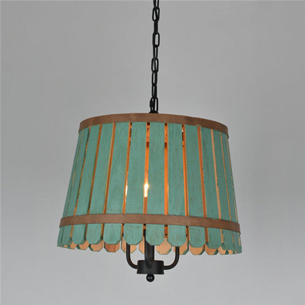 Vintage Wood Pendant Light PL559 - Cheerhuzz