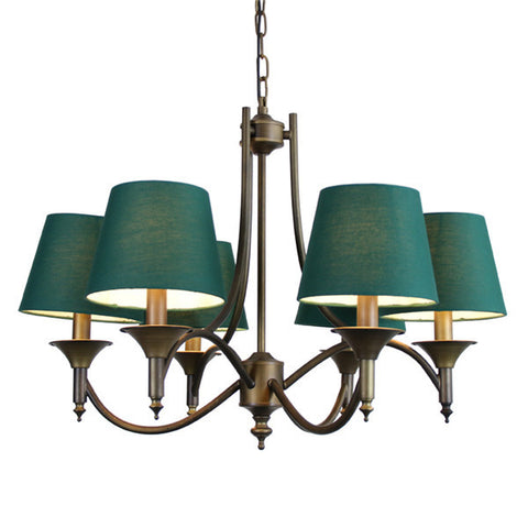 Nordic 6 Heads Retro Pendant Light PL561
