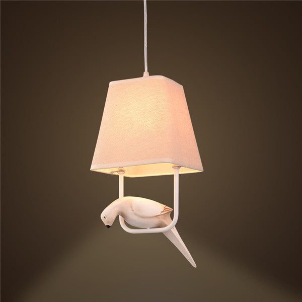 Resin Bird Pendant Lamp PL567 - Cheerhuzz