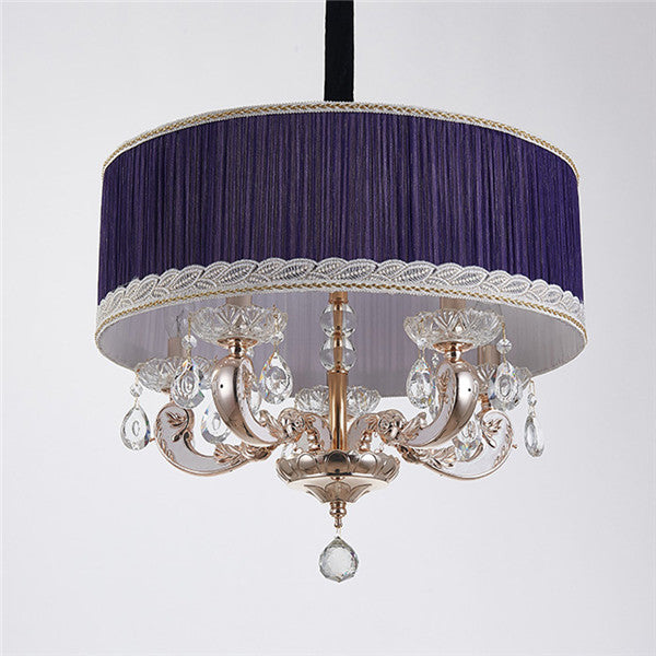 Modern Drum Crystal Pendant Lighting PL571 - Cheerhuzz