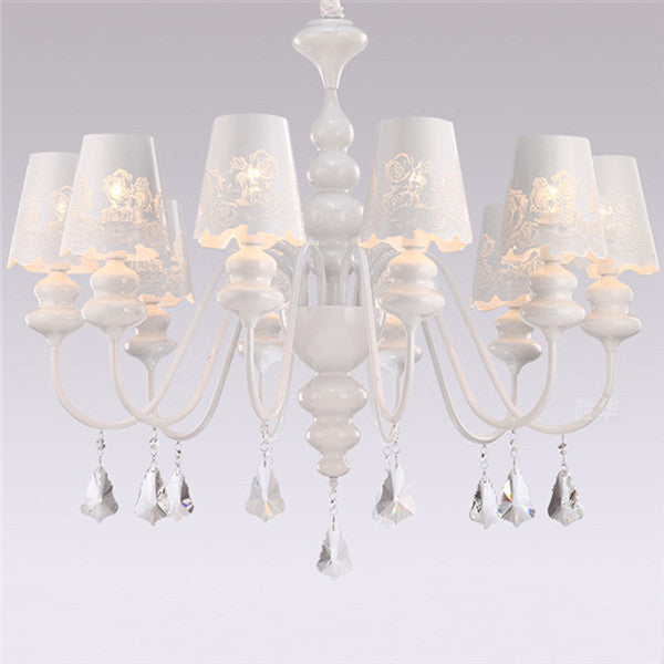 Contemporary Crystal Chandelier Lighting PL576 - Cheerhuzz