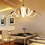 European LED White Ceiling Lamp PL582