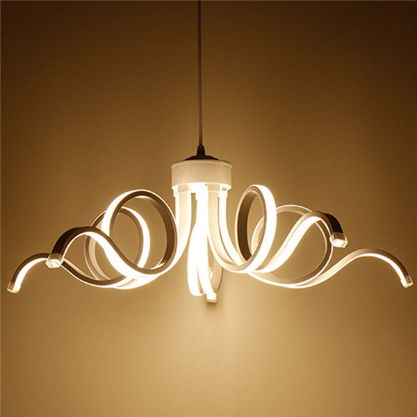 European LED White Ceiling Lamp PL582 - Cheerhuzz