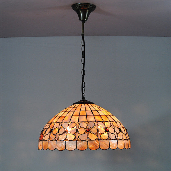 Tiffany Hanging Lamp Stained Glass Pendant Light Pl583