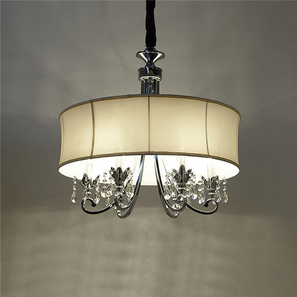 Modern 3/6 Light Drum Pendant Lights PL589 - Cheerhuzz