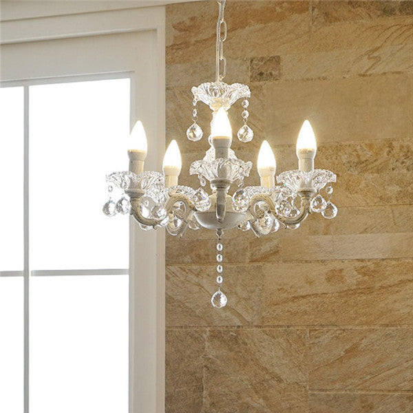 Elegant Crystal Pendant Light PL590