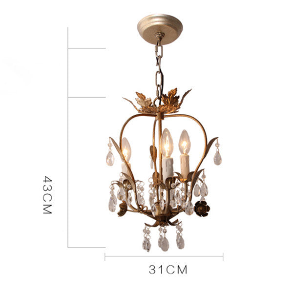 American Crystal Pendant Light PL595-3 - Cheerhuzz