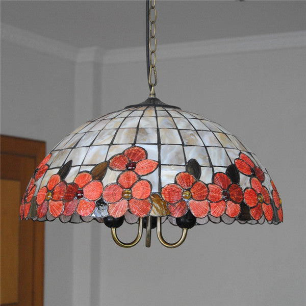 Stained Glass Tiffany Shell Pendant Lights PL614