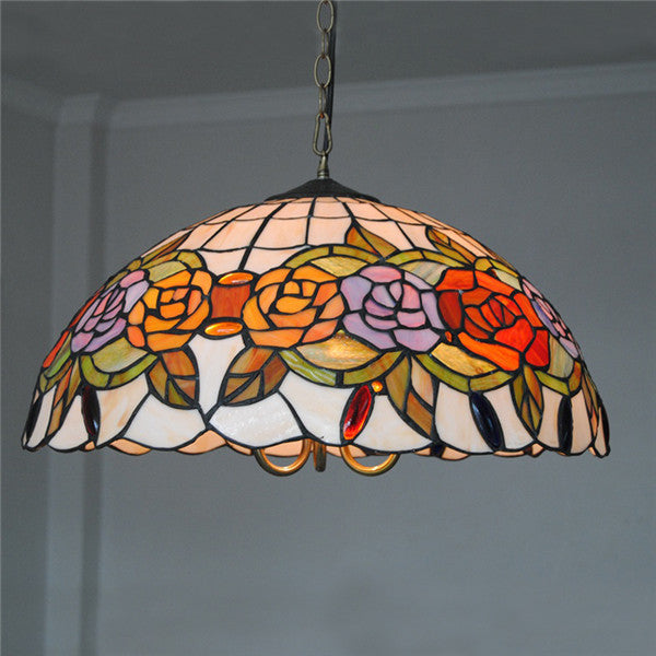 Tiffany Rose Chandelier Lighting PL616 - Cheerhuzz