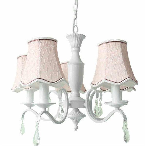 Modern Pink Fabric Shade Pendant Lamp PL621 - Cheerhuzz