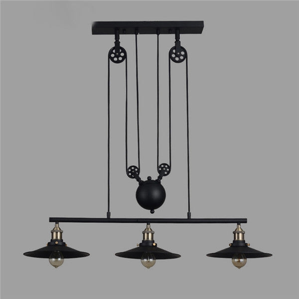 Adjustable Pulley Chandelier Light PL630 - Cheerhuzz