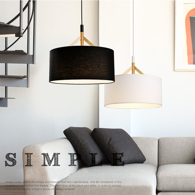 Black/White Modern Pendant Lamp PL646 - Cheerhuzz
