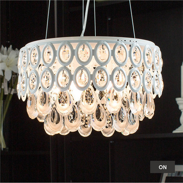 Modern Loft Crystal Chandelier Light PL649-P - Cheerhuzz