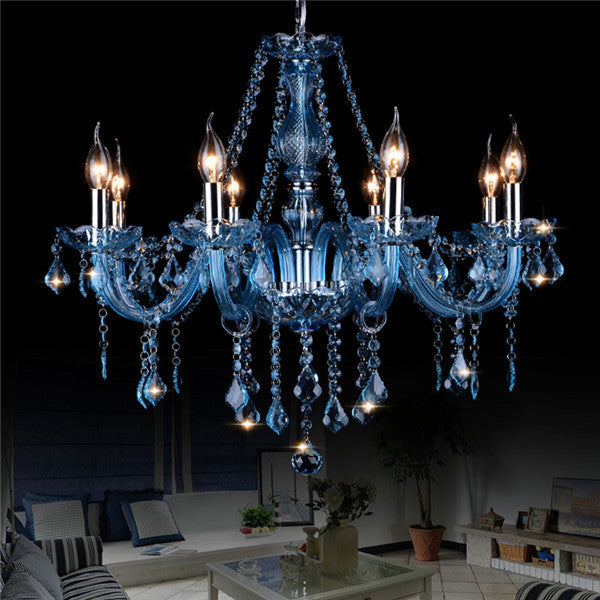 Crystal Candle Pendant Lamp PL653 - Cheerhuzz