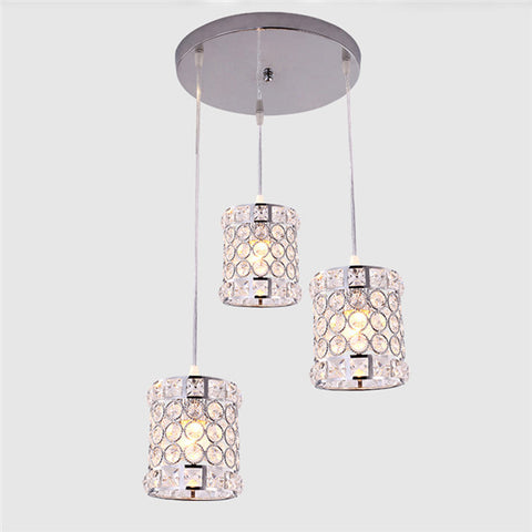 1/3 Lights Crystal Pendant Lamp PL655