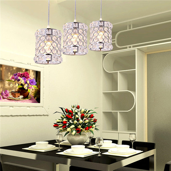 Crystal Pendant Lamp 1/3 Lights PL655 - Cheerhuzz