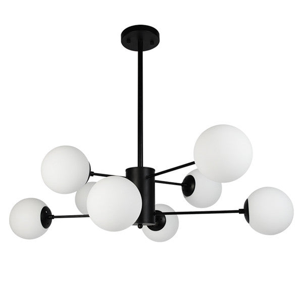 Industrial Glass Ball Chandelier Light PL661