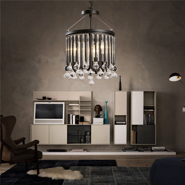 Classic Black Metal Pendant Lamp PL665 - Cheerhuzz