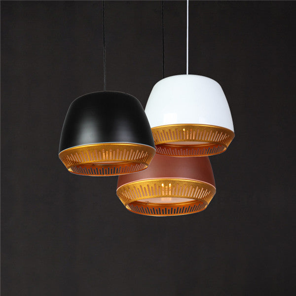 Single Head Modern Metal Pendant Light PL667