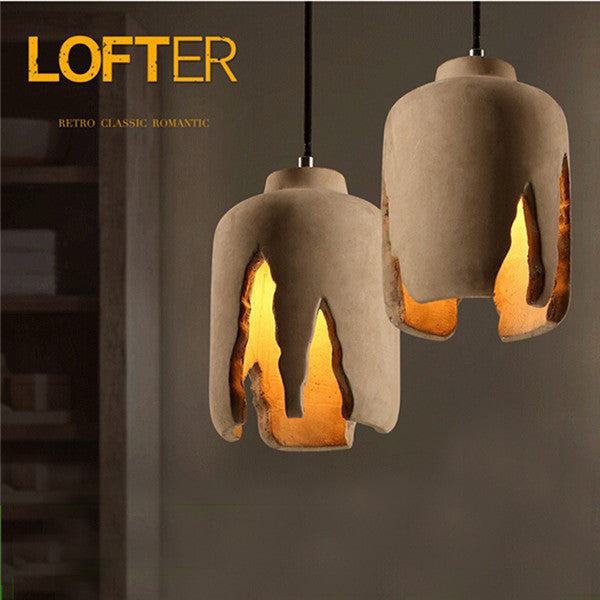Creative Cement Pendant Light PL671 - Cheerhuzz