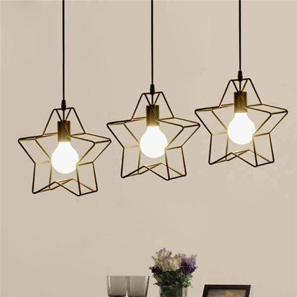 Modern DIY Hollow Pendant Light PL672